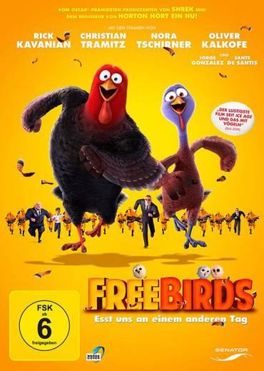 DVD Free Birds Esst uns an einem anderen Tag FSK: 6