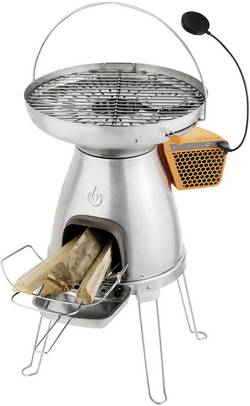 Outdoorový grill na dřevo BioLite BaseCamp BL-BCA