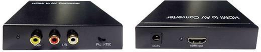 Inakustik AV Konverter HDMI-converter HDMI - FBAS + audio [HDMI - Composite Cinch]