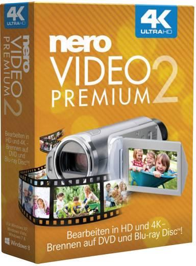 Nero Video Premium 2 Vollversion, 1 Lizenz Windows Videobearbeitung