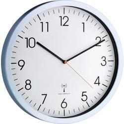 DCF nástenné hodiny TFA Dostmann 60.3517.55 60.3517.55, vonkajší Ø 30.5 cm, hliník (matný)