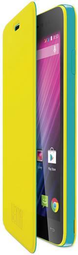 WIKO Flip Cover Flip Cover Passend für: Wiko Lenny Neon-Gelb