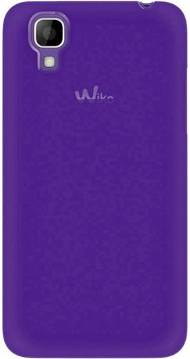 WIKO Schutzhülle Backcover Passend für: Wiko Sunset Lila, Türkis