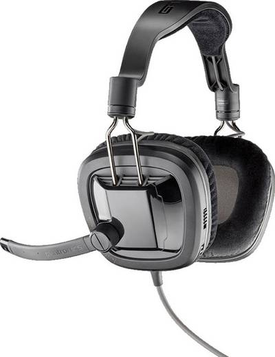 Gaming Headset 3.5 mm Klinke schnurgebunden, Stereo Plantronics GameCom 388 Over Ear Schwarz