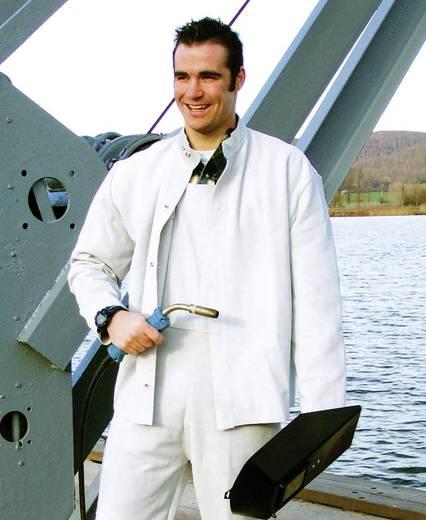 Upixx 3065 Schweißer-Volllederjacke Größe=58 Weiß