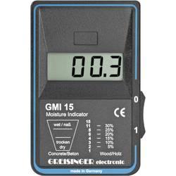 Měřič vlhkosti dřeva a stavebních materiálů Greisinger GMI 15, 600228, 9 V