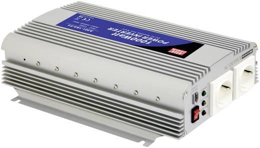 Wechselrichter Mean Well A301-1K0-F3 1000 W 12 V/DC 10-15 V/DC Schraubklemmen Schutzkontakt-Steckdose