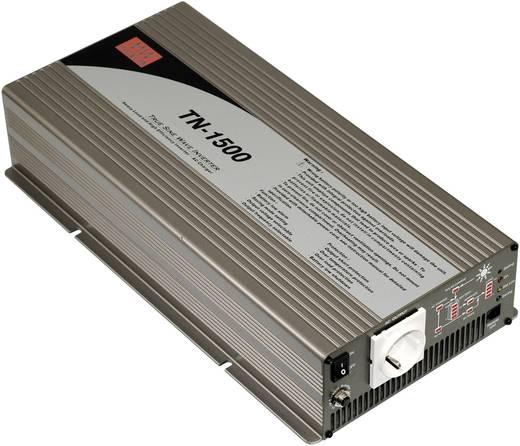 Wechselrichter Mean Well TN-1500-212B 1500 W 12 V/DC 10.5 - 15 V/DC Schraubklemmen Schutzkontakt-Steckdose