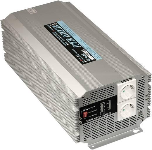 Wechselrichter Mean Well A302-2K5-F3 2500 W 24 V/DC 21 - 30 V/DC Schraubklemmen Schutzkontakt-Steckdose