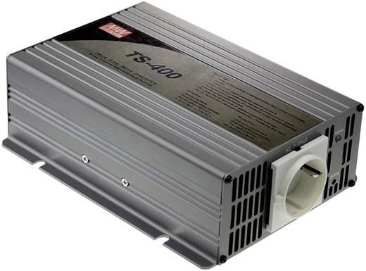 Wechselrichter Mean Well TS-400-224B 400 W 24 V/DC 21 - 30 V/DC Schraubklemmen Schutzkontakt-Steckdose