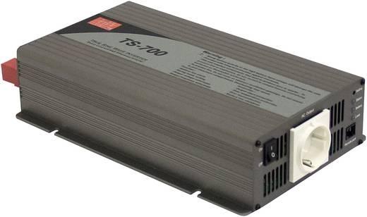 Wechselrichter Mean Well TS-700-212B 700 W 12 V/DC 10.5 - 15 V/DC Schraubklemmen Schutzkontakt-Steckdose