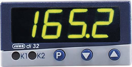 PID Temperaturregler Jumo di 08 Pt100, Pt1000, KTY11-6, L, J, U, T, K, E, N, S, R, B, D, C -200 bis +2495 °C Relais 3 A, Transistor (L x B x H) 83 x 96 x 48 mm