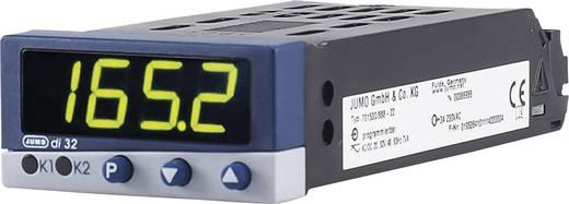 PID Temperaturregler Jumo di 32 Pt100, Pt1000, KTY11-6, L, J, U, T, K, E, N, S, R, B, D, C -200 bis +2495 °C Relais 3 A, Transistor (L x B x H) 112.5 x 48 x 24 mm