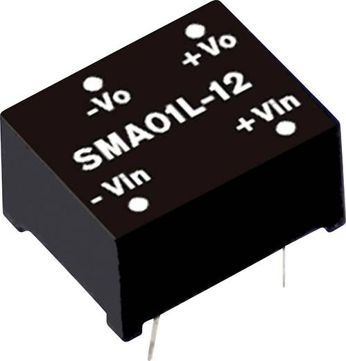 DC/DC-Wandler Mean Well SMA01L-05 200 mA