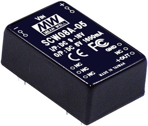 DC/DC-Wandler Mean Well SCW08A-05 1600 mA