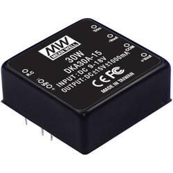 DC/DC-menič Mean Well DKA30A-05, 5 V/DC /2500 mA, 25 W