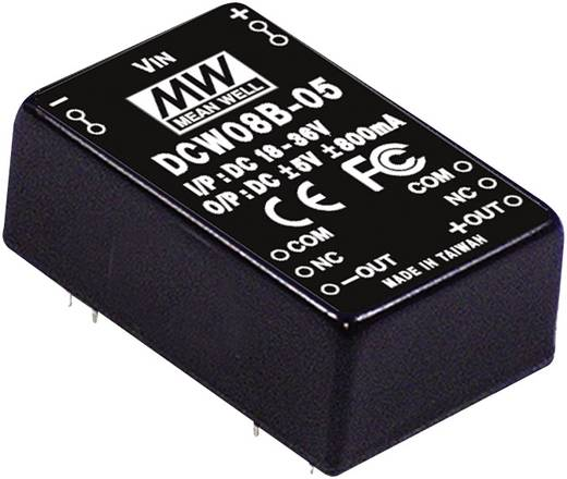 DC/DC-Wandler Mean Well DCW08B-15 267 mA