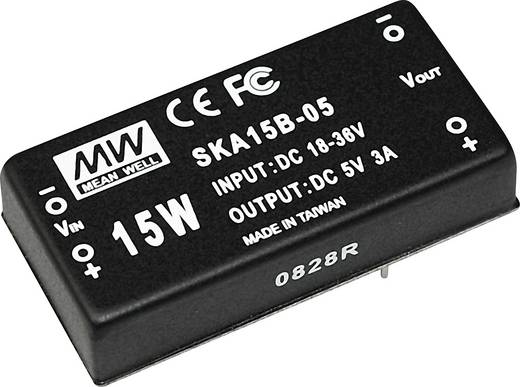 DC/DC-Wandler Mean Well SKA15B-12 1250 mA