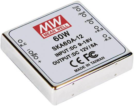 DC/DC-Wandler Mean Well SKA60C-05 12 A