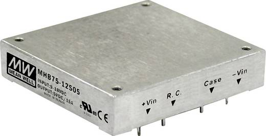 DC/DC-Wandler Mean Well MHB75-24S12 6.25 A
