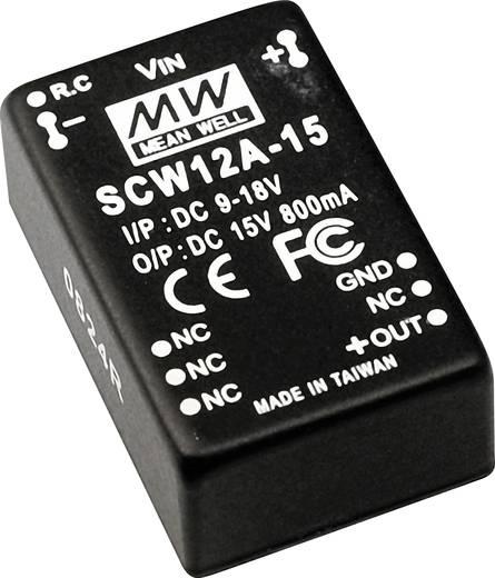 DC/DC-Wandler Mean Well SCW12B-12 1000 mA