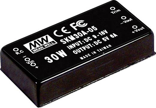 DC/DC-Wandler Mean Well SKM30C-05 6 A