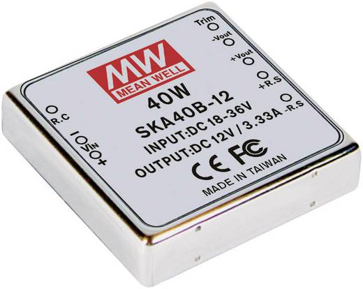 DC/DC-Wandler Mean Well SKA40C-15 2.67 A