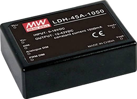 DC/DC-Wandler, Print Mean Well LDH-45A-1050 45.15 W Anzahl Ausgänge: 1 x