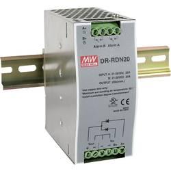Image of Mean Well DR-RDN20 Hutschienen-Redundanz-Modul (DIN-Rail) Anzahl Ausgänge: 1 x