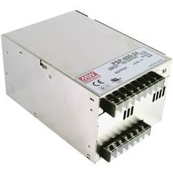 AC/DC vestavný zdroj, uzavřený Mean Well PSP-600-48, 48 V/DC, 12.5 A, 600 W