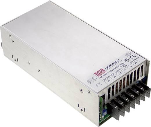 AC/DC-Netzteilbaustein, geschlossen Mean Well HRP-600-24 24 V/DC 27 A 648 W