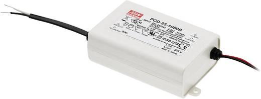 LED-Treiber Konstantstrom Mean Well PCD-25-1050B 25 W (max) 1.05 A 16 - 24 V/DC dimmbar