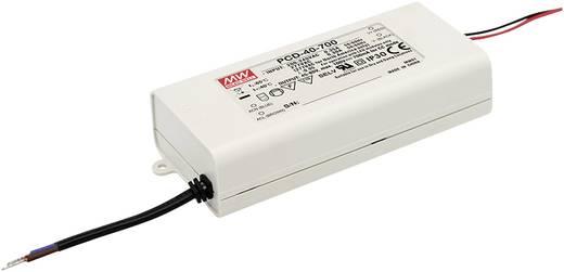 LED-Treiber Konstantstrom Mean Well PCD-40-1750B 40 W 1.75 A 13 - 23 V/DC dimmbar, PFC-Schaltkreis, Überlastschutz, Mont