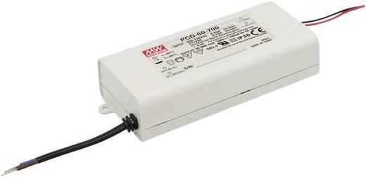 LED-Treiber Konstantstrom Mean Well PCD-60-1400B 60 W 1.4 A 25 - 43 V/DC dimmbar