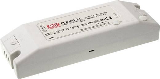 LED-Treiber, LED-Trafo Konstantspannung, Konstantstrom Mean Well PLC-45-12 45 W 3.8 A 12 V/DC nicht dimmbar, PFC-Schaltk