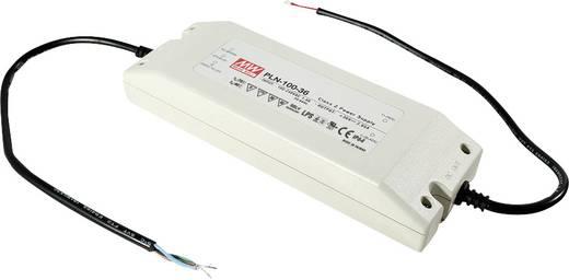 LED-Treiber, LED-Trafo Konstantspannung, Konstantstrom Mean Well PLN-100-12 60 W 5 A 9 - 12 V/DC nicht dimmbar, PFC-Scha
