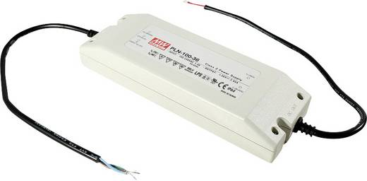 LED-Treiber, LED-Trafo Konstantspannung, Konstantstrom Mean Well PLN-100-15 75 W 5 A 11.25 - 15 V/DC nicht dimmbar, PFC-