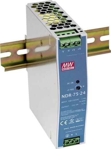 Hutschienen-Netzteil (DIN-Rail) Mean Well NDR-75-24 24 V/DC 3.2 A 75 W 1 x