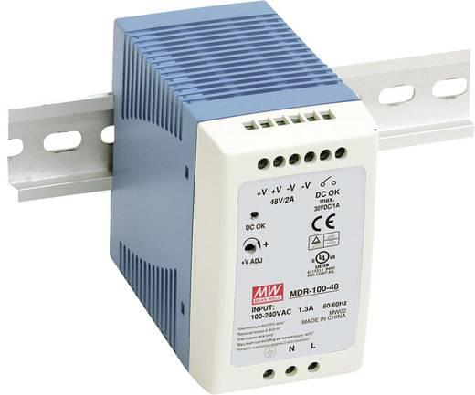 Hutschienen-Netzteil (DIN-Rail) Mean Well MDR-100-24 24 V/DC 4 A 96 W 1 x