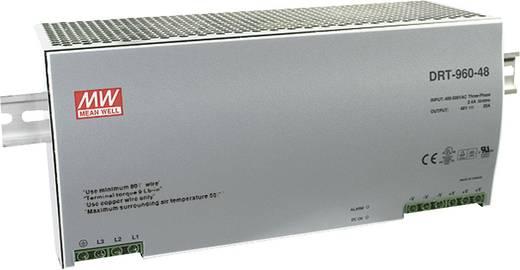 Hutschienen-Netzteil (DIN-Rail) Mean Well DRT-960-24 24 V/DC 40 A 960 W 1 x