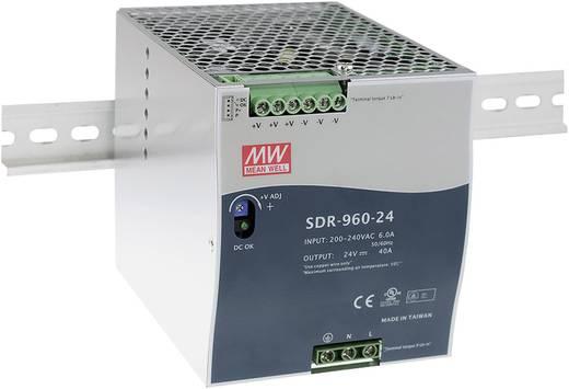 Hutschienen-Netzteil (DIN-Rail) Mean Well SDR-960-24 24 V/DC 40 A 960 W 1 x