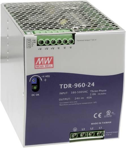 Hutschienen-Netzteil (DIN-Rail) Mean Well TDR-960-24 24 V/DC 40 A 960 W 1 x