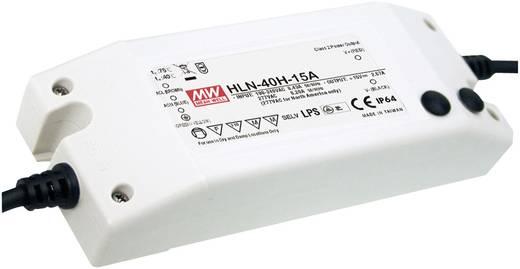LED-Treiber Konstantstrom Mean Well HLN-40H-15A 40 W 2.67 A 9 - 15 V/DC dimmbar