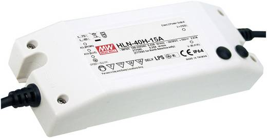LED-Treiber Konstantstrom Mean Well HLN-40H-36A 40 W (max) 1.12 A 21.6 - 36 V/DC dimmbar