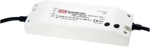 LED-Treiber, LED-Trafo Konstantspannung, Konstantstrom Mean Well HLN-80H-42A 81 W 1.95 A 25.2 - 42 V/DC dimmbar, PFC-Sch