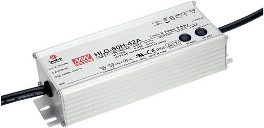 LED-Treiber, LED-Trafo Konstantspannung, Konstantstrom Mean Well HLG-60H-20A 60 W 3 A 12 - 20 V/DC dimmbar, PFC-Schaltkr