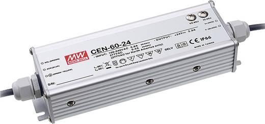 LED-Treiber, LED-Trafo Konstantspannung, Konstantstrom Mean Well CEN-60-54 62 W (max) 0 - 1.15 A 40.5 - 54 V/DC PFC-Scha