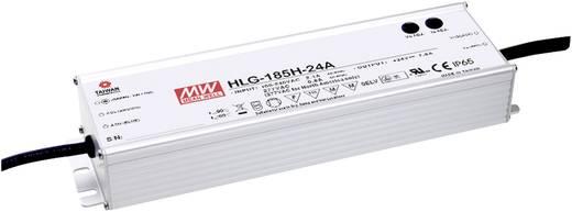 LED-Treiber, LED-Trafo Konstantspannung, Konstantstrom Mean Well HLG-185H-24A 187 W 7.8 A 12 - 24 V/DC dimmbar, PFC-Scha