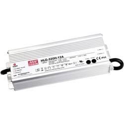LED driver, napájací zdroj pre LED konštantné napätie, konštantný prúd Mean Well HLG-320H-20A, 300 W (max), 15 A, 20 V/DC