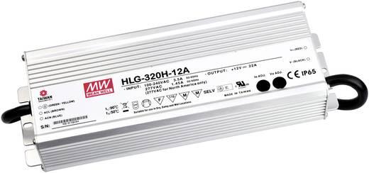 LED-Treiber, LED-Trafo Konstantspannung, Konstantstrom Mean Well HLG-320H-12A 264 W 22 A 6 - 12 V/DC dimmbar, PFC-Schalt